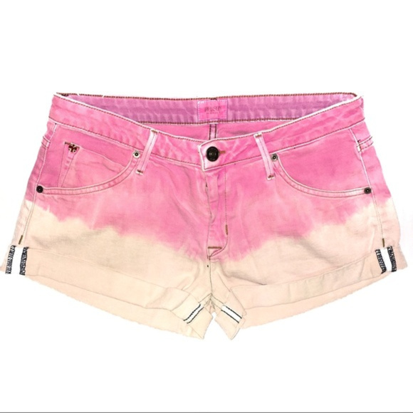 c492f95cc3e Hudson Jeans Shorts | Hudson Pink Ombre Hampton Cuffed | Poshmark